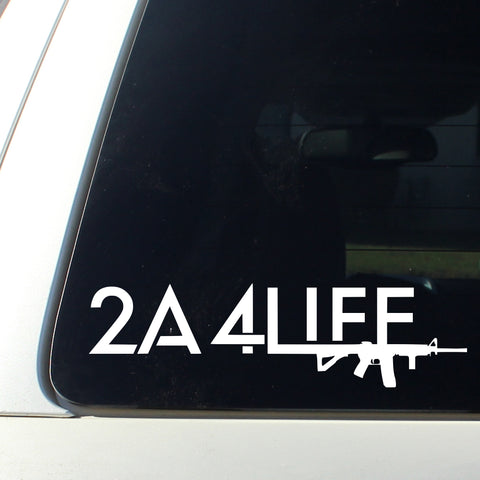 2A4LIFE DECAL
