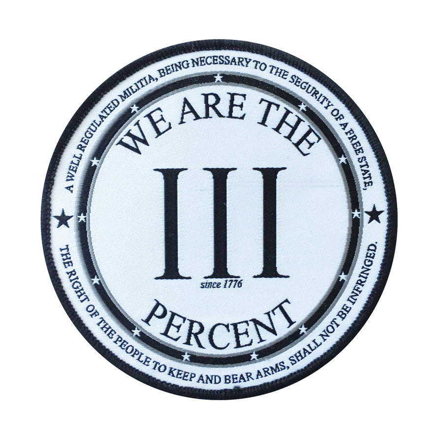 We Are The III Percent Patch
