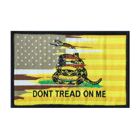 American/Gadsden Flag Patch