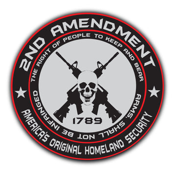 Our Famous 2nd Amendment Sticker