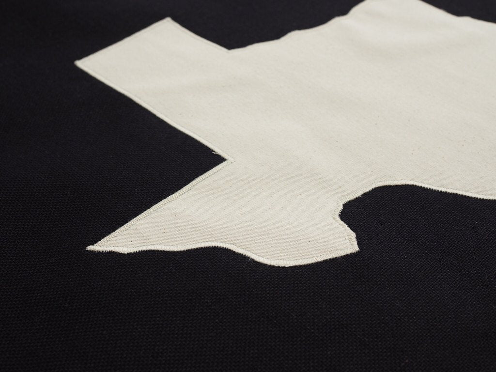 Texas Flag - Indigo Canvas