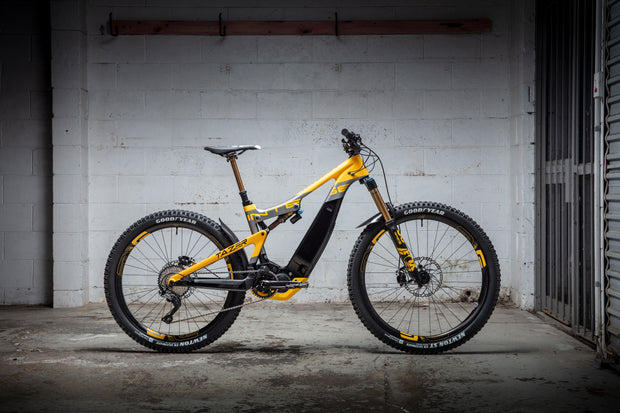 #UNSEEN Tazer - Crankworx Display Bike