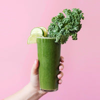 Cucumber, Lime, and Kale Smoothie