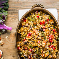 Hazelnut Pomegranate Stuffing