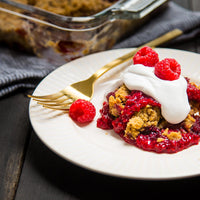 Chocolate Raspberry Dump Cake Recipe