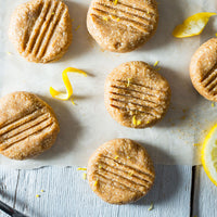 No Bake Lemon and Cashew Cookies