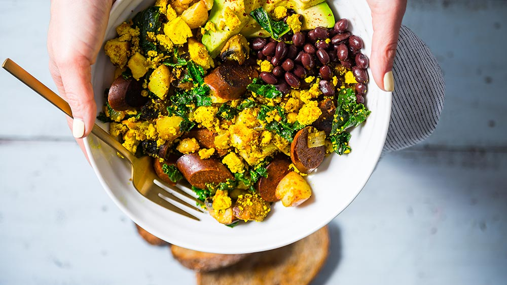 Farmer's Tofu Scramble