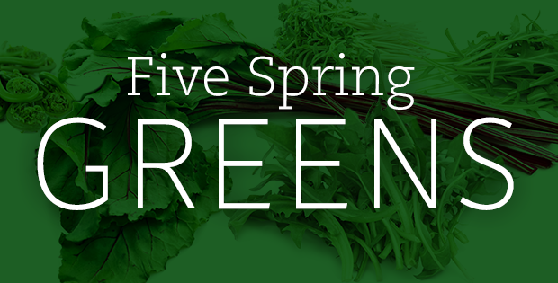Nutritional Benefits of 5 Favorite Spring Greens