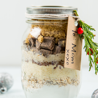 Mason Jar Gifts: Peanut Butter Banana Bread