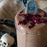 The Death By Chocolate Bloody Berry Smoothie