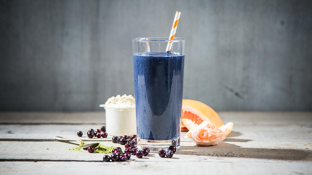 Blueberry Matcha Smoothie