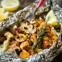 Campfire Recipes: Grilled Veggies with Stone Fruit