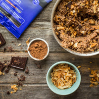 Coconut Chocolate Quinoa Protein Pudding