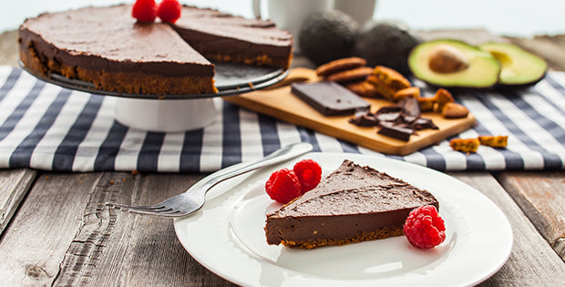 Spiced Chocolate Tart