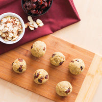 Cranberry Almond Oatmeal Bites