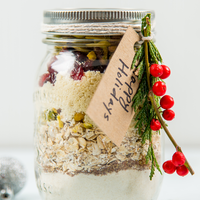 Mason Jar Gifts: Cranberry Pistachio Cookies
