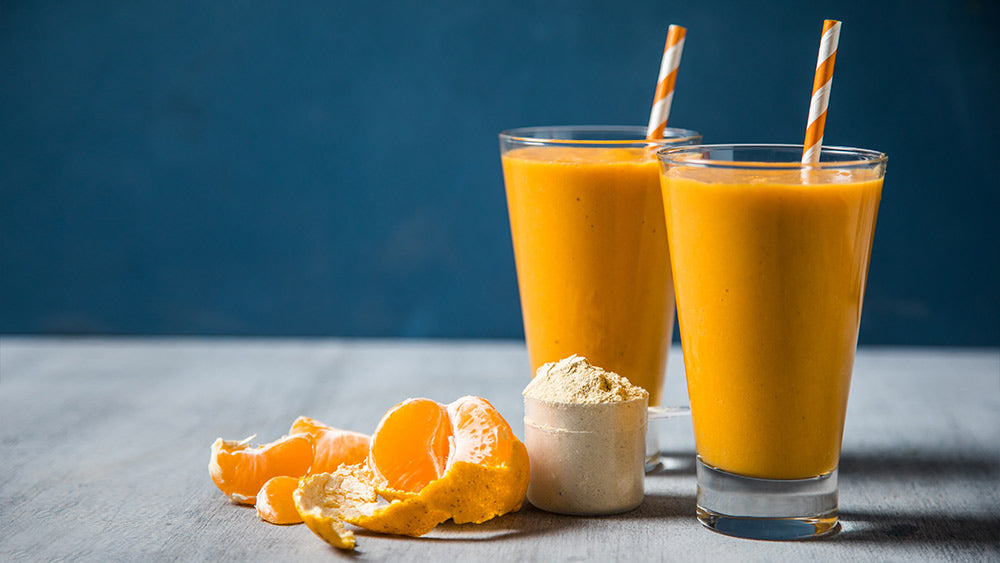 Simple Orange Protein Smoothie