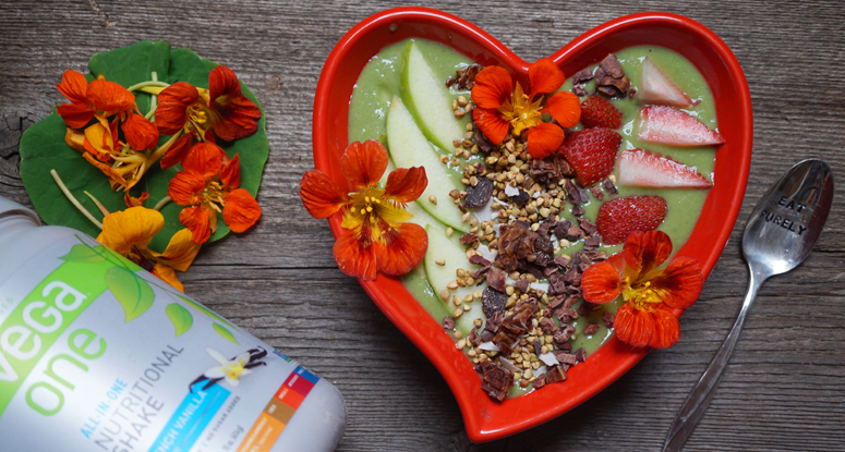 Breakfast Criminals' Green Smoothie Bowl
