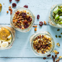 Mason Jar Oatmeal On-the-Go