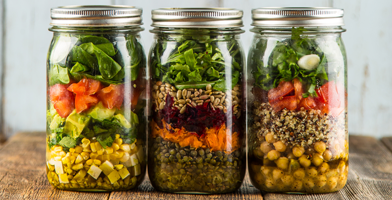 Vegan & Gluten-Free Mason Jar Salad Recipes