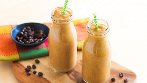 Mocha Pumpkin Spice Smoothie