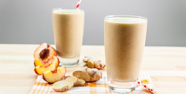 Ginger Peach Smoothie