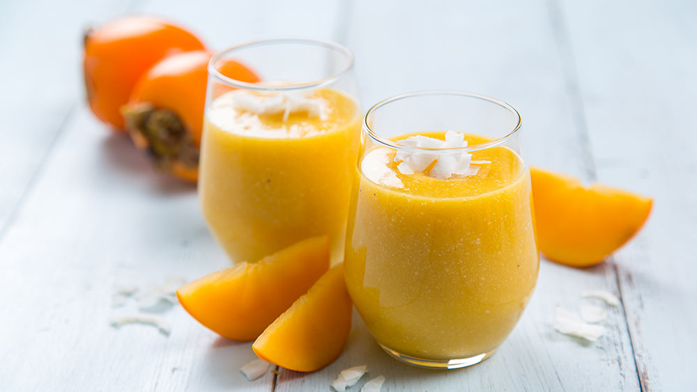 Persimmon Coconut Smoothie