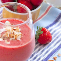 Creamy Coconut Strawberry Smoothie