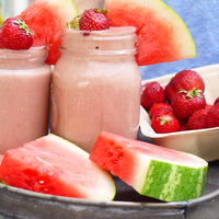 Strawberry Watermelon Smoothie