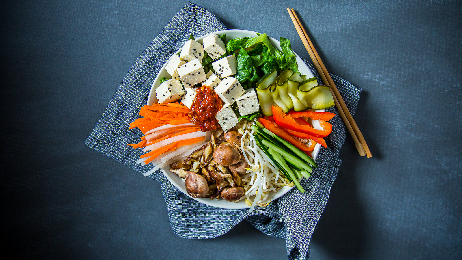 Vegan Bibimbap Bowl
