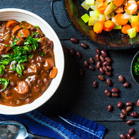 Vegan Black Bean Bourguignon