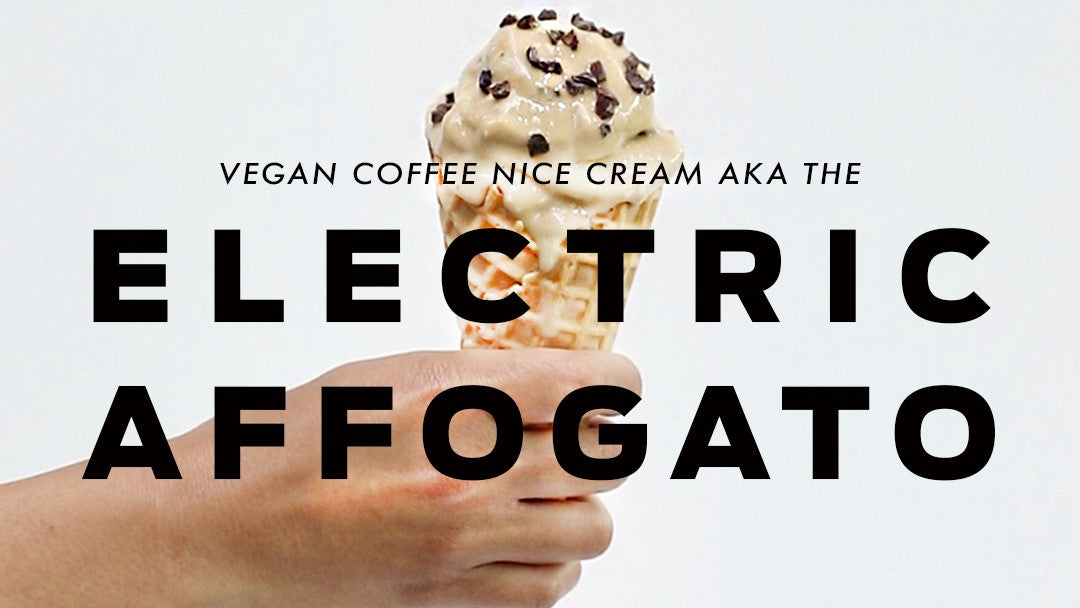 Vegan Coffee Nice Cream