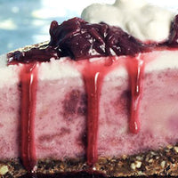 Strawberry-Rhubarb Ice Cream Pie