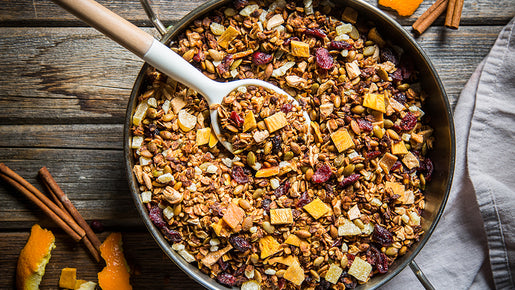 Homemade Spiced Orange Granola