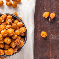 Nacho Seasoned Roasted Chickpeas