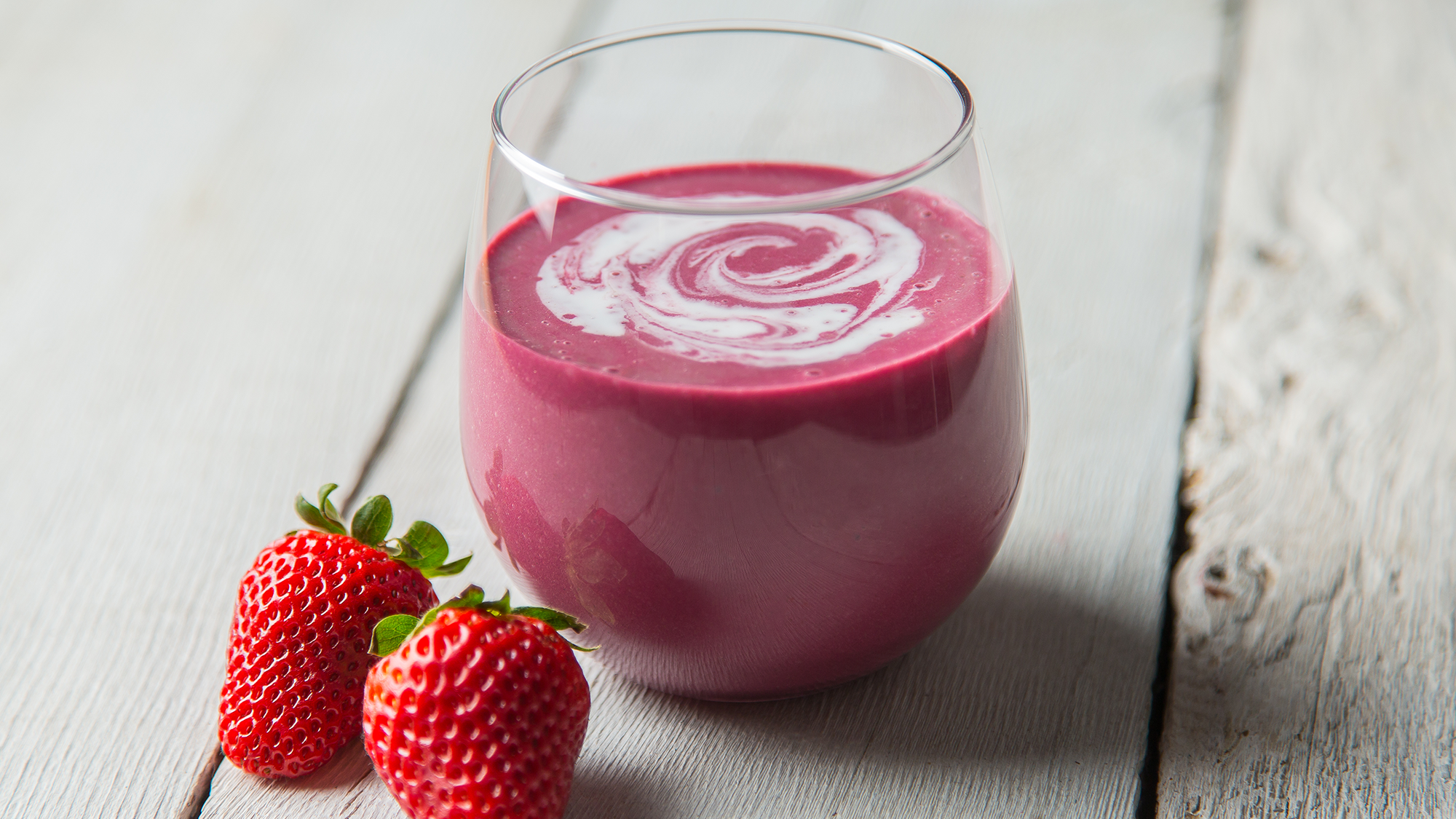 Strawberries and Cream Smoothie