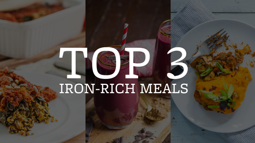 Top 3 Iron-rich Meals