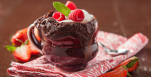 Morgan's Vegan Chocolate Mug Cake