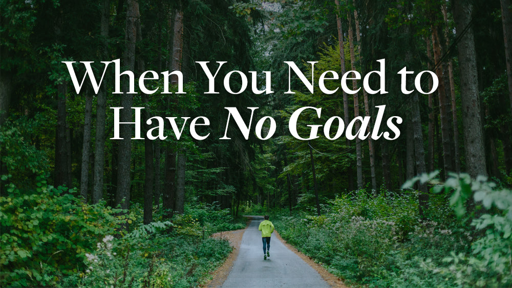Benefits of Training Without Goal Setting