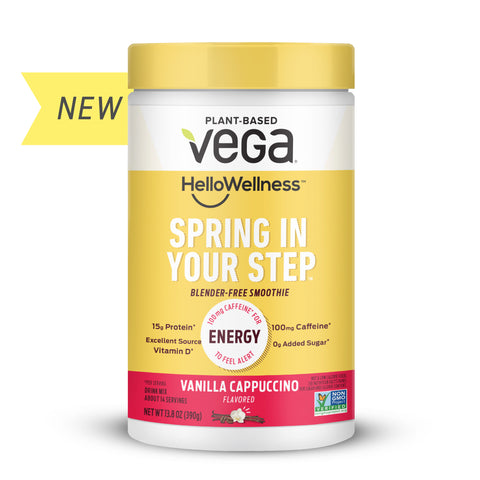 vega functional wellness energy booster support
