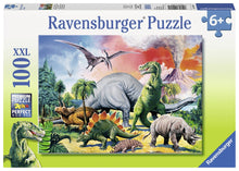 Among the Dinosaurs Palapeli 100 palaa Ravensburger