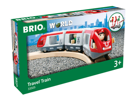 BRIO World Travel Train juna