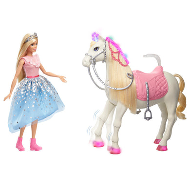 Barbie Princess Adventure and horse