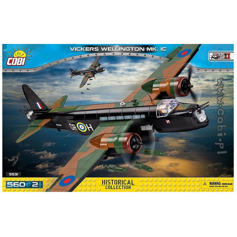 COBI Vickers Wellington Lentokone