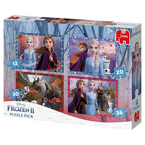 Disney Frozen II, 4 in 1 palapelisetti
