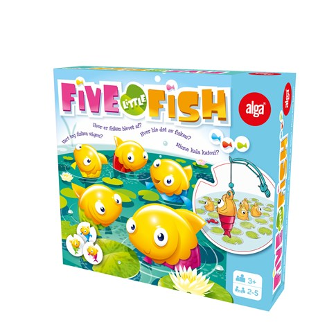 Five Little Fish -Peli | Alga