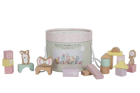 Little Dutch Puupalikat sanko, Adventure Pink