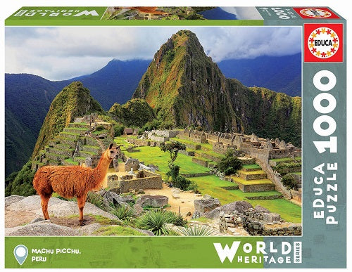 Machu Picchu Palapeli 1000 palaa | Educa World Heritage Series