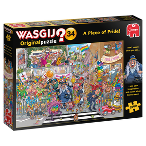 Wasgij? Mystery Puzzle - Piece Of Pride 1000 palaa