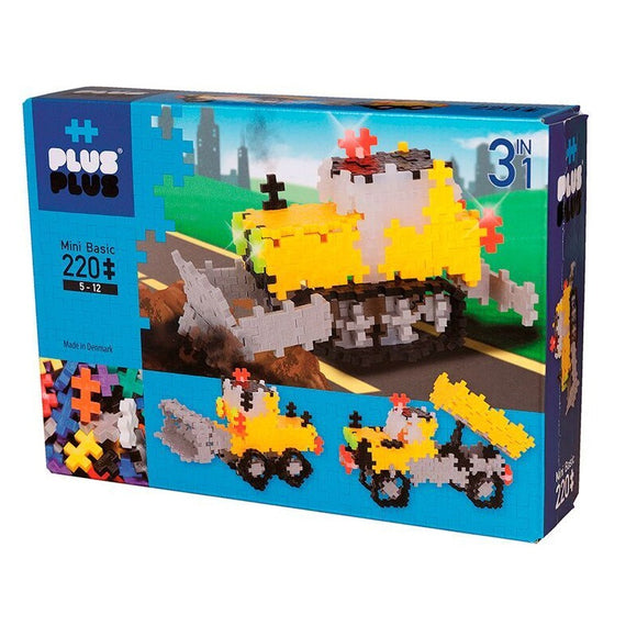 Plus-Plus Basic 3in1, 220 palaa
